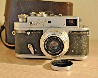 Vintage Soviet Camera Mir Мир .1969-61