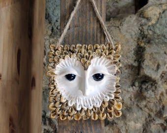 Squarre Owl Ornament