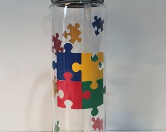 Autism Awareness Water Bottle: Autism, Summit Water Bottle