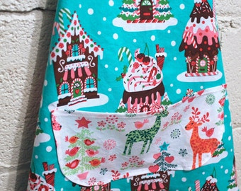 Child's Holiday Christmas Apron