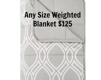 Luxurious Adult Weighted Blanket- Gray-Weighted Blanket for Adult, Teen, Anxiety, PTSD, Insomnia, Autism, Aspergers,