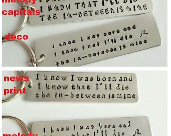 Customize your keychain! Choose your words!