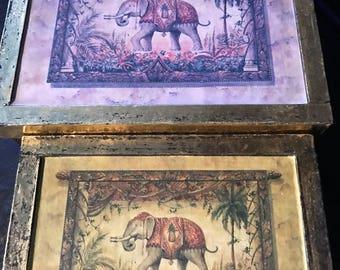 Keepsake Elephant trinket  boxes