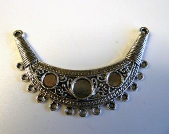 Boho Style Center Piece Focal Necklace Connector Pendant