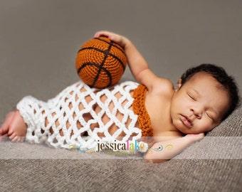 PRE-ORDER Newborn Baby  Basketball, Basketball Net, Photography Prop
