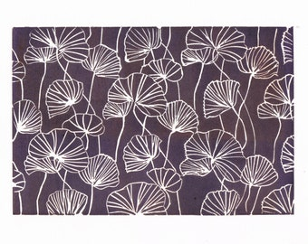 Purple Poppy Print