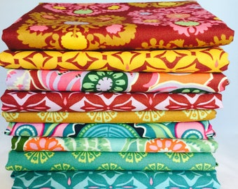 Amy Butler, Dreamweaver, 1/4 yard bundle, 7 pieces