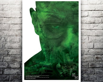 I Am The One Who Knocks Breaking Bad poster print