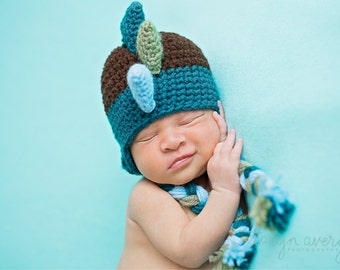 Newborn dinosaur hat dragon hat