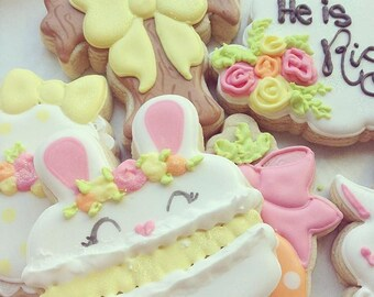 Bunny Macaron Cookie Cutter