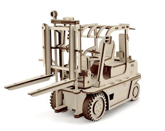 Loader 3D Puzzle Wood Toy