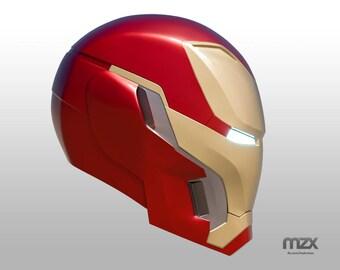 Mark 48 helmet model for 3D-printing DIY