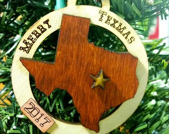 Texas Dark 2018 Gift Tag / Ornament (updated image to follow!)