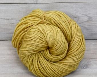 Supernova - Hand Dyed Superwash Merino Wool Worsted Yarn - Colorway: Honeycomb