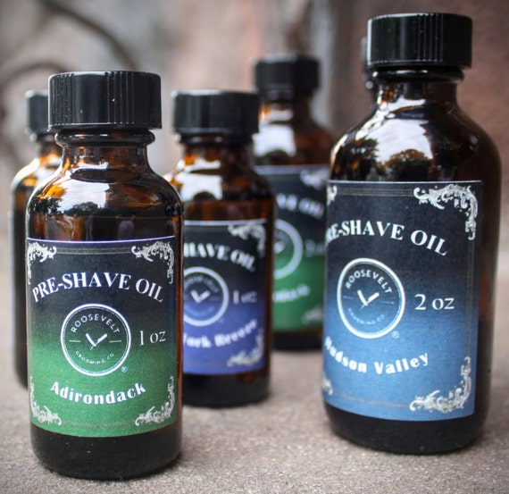 Pre-Shave Oil, for the Perfect Shave - Prepares, Softens Lubricates and Protects