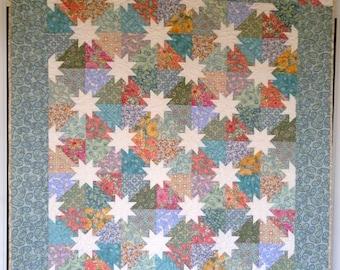 Modern Victorian Hunter Star Quilt Pattern