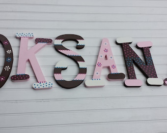 Baby Girl Name - Nursery Letters - Baby Boy Name - Kids Name Letters - Baby Shower Gift