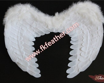 19 Angel Wing,Angel Feather Wings, Halloween Wing, Halloween Angel Wing    Adult and children Angel Wing, black Wing,  Halloween Accessory