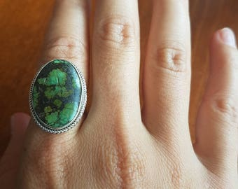 Turquoise Lasso Statement Ring SALE