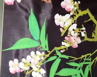Paul-Chan-Batick-On Silk-Original-signed