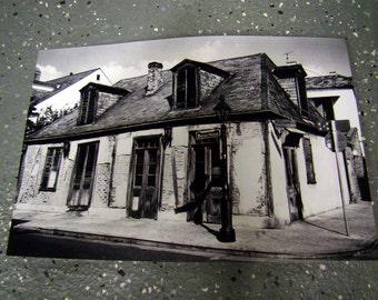 Jean Lafitte's Blacksmith Shop - 8x12 - Black And White - Photograph