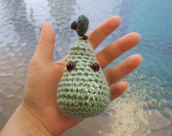 Cute Crochet Pear