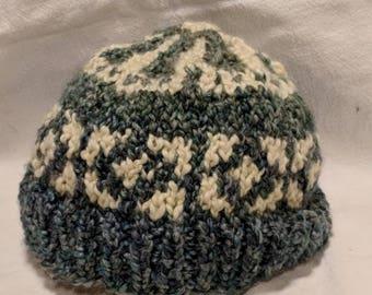 intarsia hat