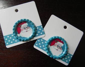 2 tags Christmas SPECIAL measuring 6 x 6 cm