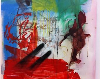 Graffiti Art Canvas Street Art Urban Art Home Decor Fine Art Spray Paint Art Wall Decor Abstract Painting Urban Decor Graffiti Painting