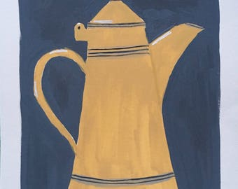 Painting a vintage coffee machine