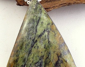 SERPENTINE OPALITE gem stone jewelry natural chakra esotericism protection healing minerals VK51.2 care