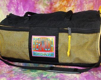 Vintage Bermuda Shorts Gym Bag w/ Monogram Name