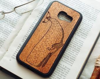 Real Wood Mahogany Samsung Galaxy A3/A5/A7 (2015/2016/2017) A8 A8+ case   Galaxy A3 A5 A7 wooden case