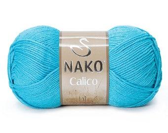NAKO Calico, Cotton yarn, Soft yarn, Turkish yarn, ND0076