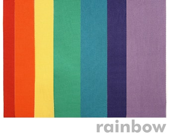 Rainbow Set of 7 Ribbons for Mohop Interchangeable Sandals