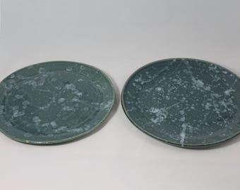 Ceramic Plate Set - 6 piece set