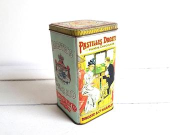 Vintage Dutch tin 'Droste Cacao Pastilles'