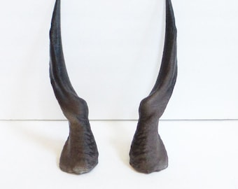 DIY Spiral Antelope horns for cosplay Larp headdress Helment horns 3D print unmounted twisted horns