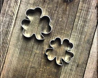 Set of Shamrock and Clover Cookie Cutters #NAWK61