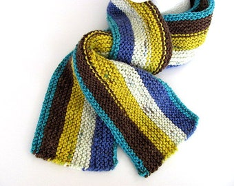 Unisex Striped Scarf Free US Shipping