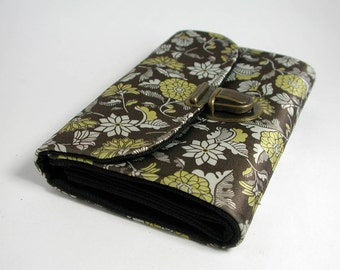 "purse ""olive flowers"""