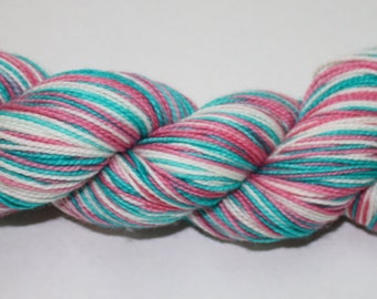Easter Bunny Self Striping Hand Dyed Sock Yarn