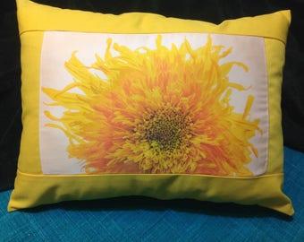 Sunflower Pillow
