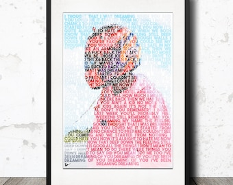 Frank Ocean - IVY / Blond / Blonde Lyric Poster Artwork Print - Limited Edition!