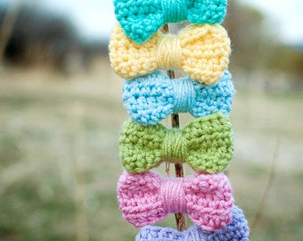 Crochet Bow, Crochet by Allie