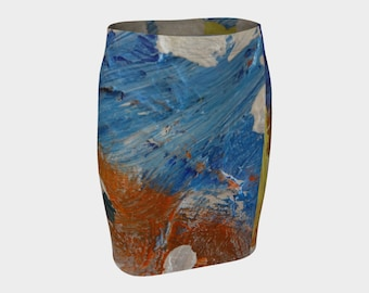 This blue ladies skirt is hot. Order for spring and wow the guys(and girls) too. Be unique. Buy one now! Douglas....:>)