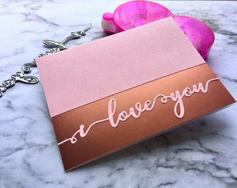 Simple and Elegant Valentines Day Card