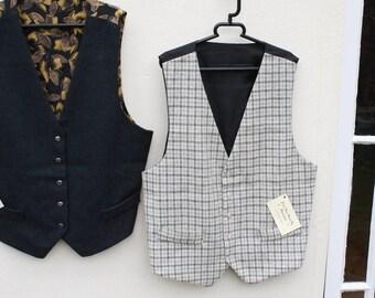 Superb hand made pure silk/pure wool waistcoat. OfgB3