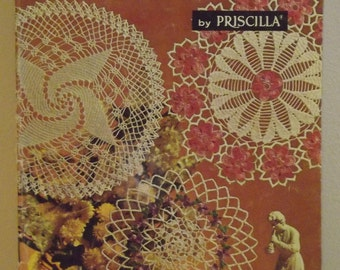 Coats Clark 122 Doilies by Priscilla Patterns  1961