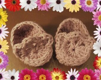 Flower slipper fits American Girl dolls